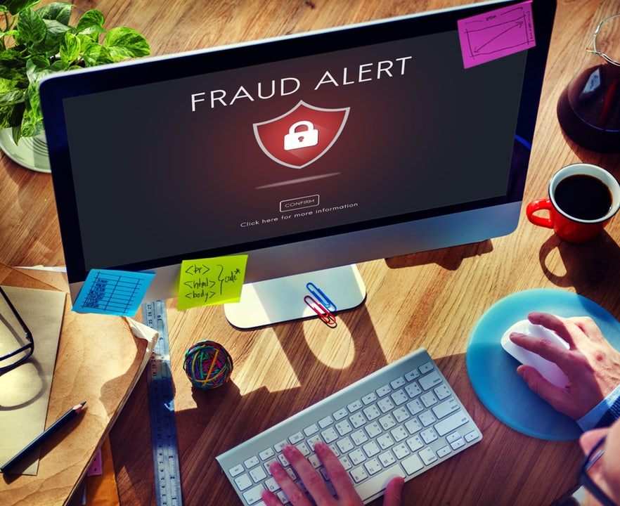 fraud scam phishing caution
